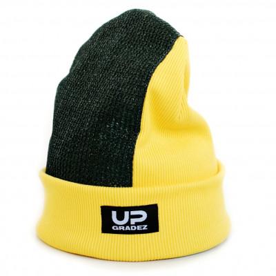 Детская шапка для брейк данса Universal желтая Имбирь