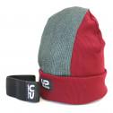 Детская шапка для брейк данса Ruffneck Глина (Бордовая)